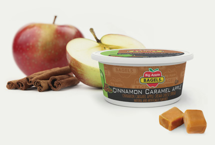 INTRODUCING - CINNAMON CARAMEL APPLE CREAM CHEESE